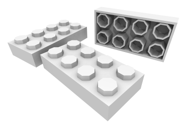 Toy Blocks (White)