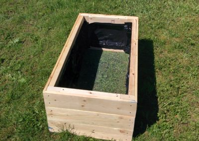 Raspberry box in place