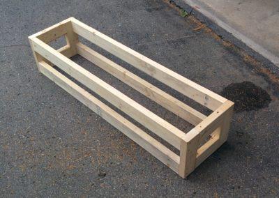 Raspberry box frame
